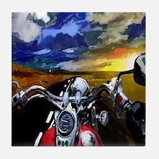 Easy Rider Tile Coaster