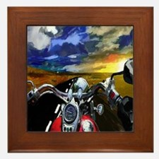 Easy Rider Framed Tile