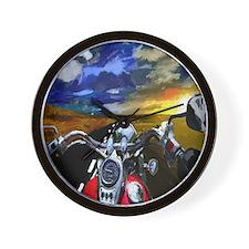 Easy Rider Wall Clock