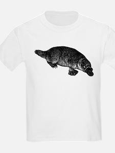 Platypus (Front) Kids T-Shirt