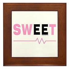 Pink Sweet EE Framed Tile