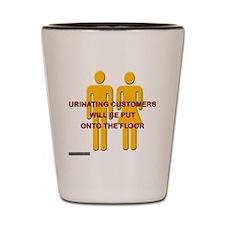 Urinating_Customers Shot Glass