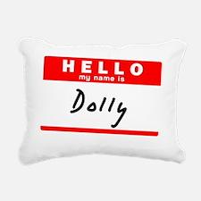 Dolly Rectangular Canvas Pillow