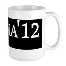 Obaam 12  car magnet blk Mug