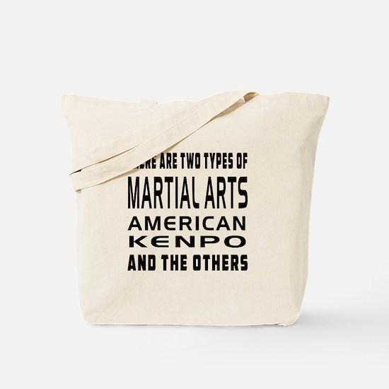 American Kenpo Designs Tote Bag