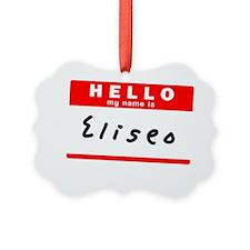 Eliseo Ornament