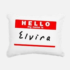Elvira Rectangular Canvas Pillow