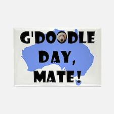 G'Doodle Day, Mate Labradoodl Rectangle Magnet