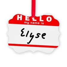 Elyse Ornament