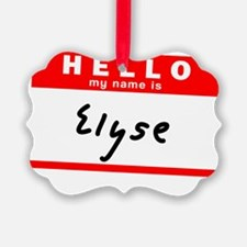 Elyse Ornament