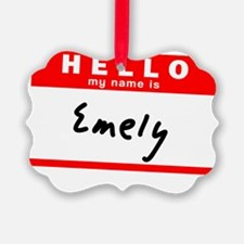 Emely Ornament