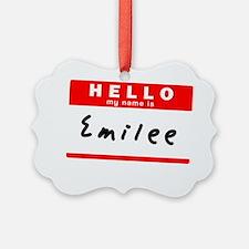Emilee Ornament