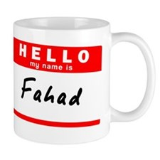 Fahad Small Small Mug