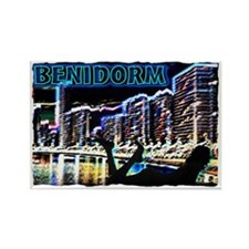 benidorm Rectangle Magnet