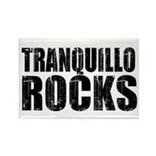 Tranquillo Rocks Rectangle Magnet