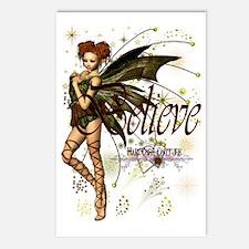 believe fairy huge 2 Postcards (Package of 8)