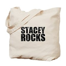 Stacey Rocks Tote Bag