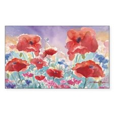 SMLG GUIDEred poppies_w3 sig Decal