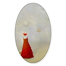 demoiselle-paysage-poppy-surrealism Decal