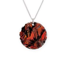 red comic Necklace