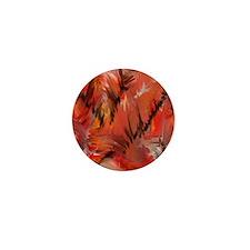red blur Mini Button