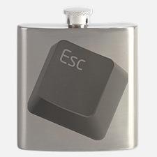 push-to-esc Flask