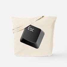 push-to-esc Tote Bag