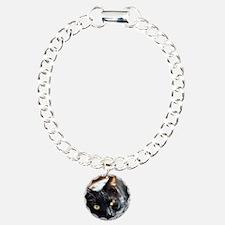 Sleek Black Cat Bracelet
