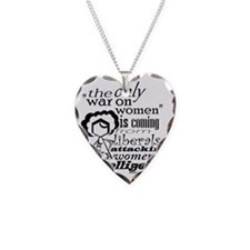 waronwomen Necklace Heart Charm