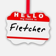 Fletcher Ornament