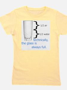 Glass 1-2 full Girl's Tee