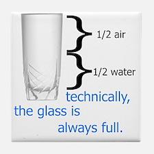 Glass 1-2 full Tile Coaster