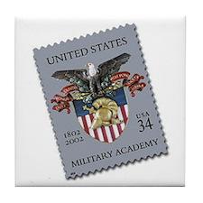 USMA Stamp Tile Coaster