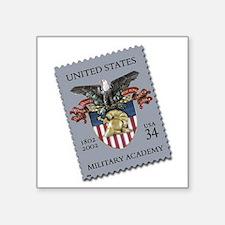 """USMA Stamp Square Sticker 3"""" x 3"""""""