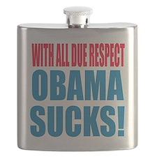 obama sucks Flask