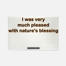 Womens_Pleased Rectangle Magnet
