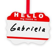 Gabriela Ornament