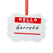 Garrett Ornament