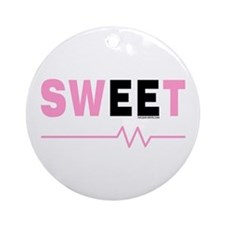 Pink Sweet EE Ornament (Round)