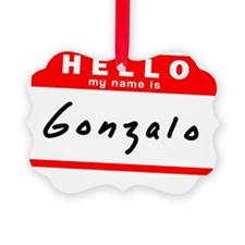 Gonzalo Ornament