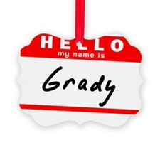 Grady Ornament