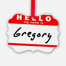Gregory Ornament