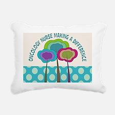 oncology nurse CP Trees Rectangular Canvas Pillow