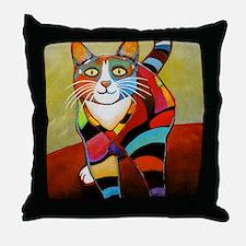 catColorsNew Throw Pillow