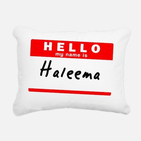 Haleema Rectangular Canvas Pillow