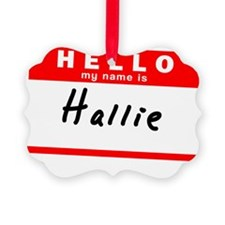 Hallie Ornament