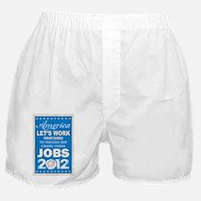 Barack Obama for President poster and Boxer Shorts