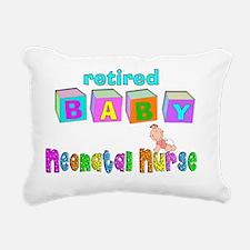 retired neonatal nurse Rectangular Canvas Pillow
