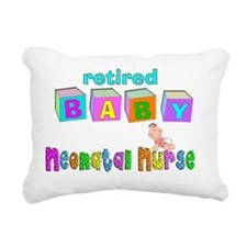 retired neonatal nurse Rectangular Canvas Pillow