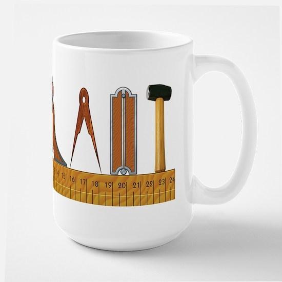 The Masons Tools Large Mug